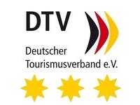 DTV Schild Ferienwohnung 3 Sterne